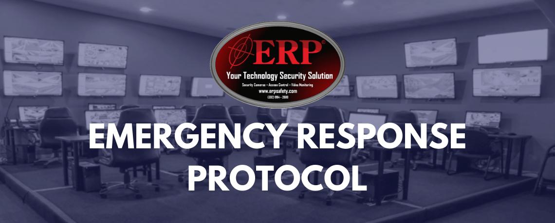 C O R E  Internship Program – Emergency Response Protocol (ERP)